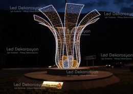 kavsak isik susleme 260x185 - Kavşak ışık süsleme