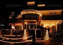 villa yilbasi susleme 7 260x185 - Villa ışık süsleme